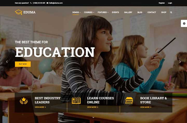 Eduma WordPress eLearning Themes