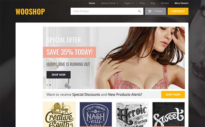 WooShop WordPress Dropshipping Themes