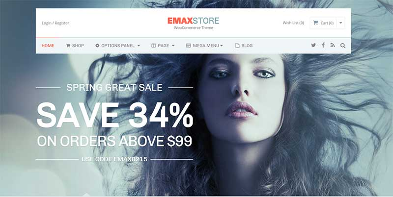 eMaxStore Dropshipping WordPress Theme