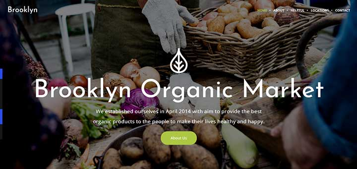Brooklyn Farming WordPress Themes