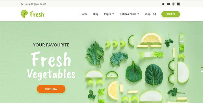 Fresh-Farm Theme MyThemeShop