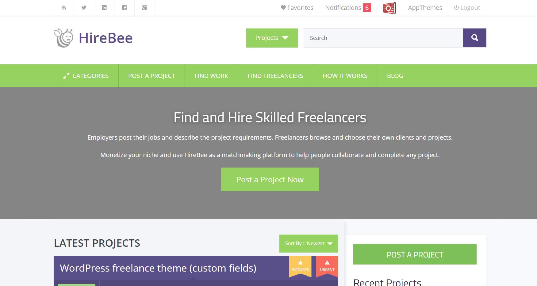 HireBee WordPress Job Board Plugin