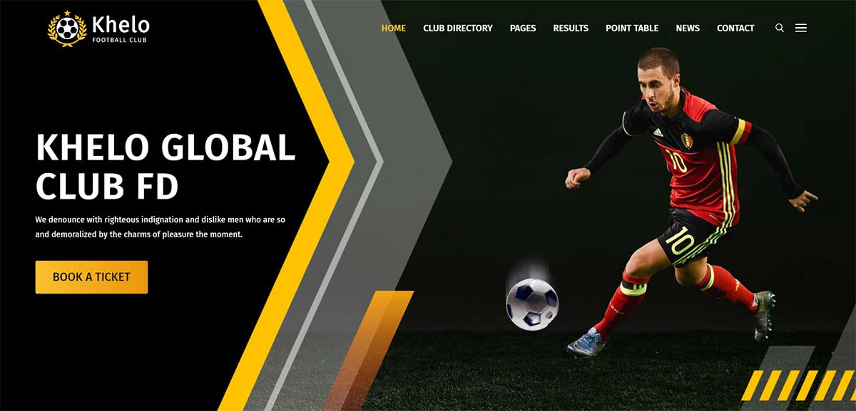 Khelo Soccer WordPress Theme