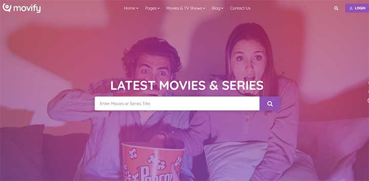 Movify – Movies and Cinema WordPress Theme