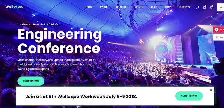 WellExpo Event & Conference Theme
