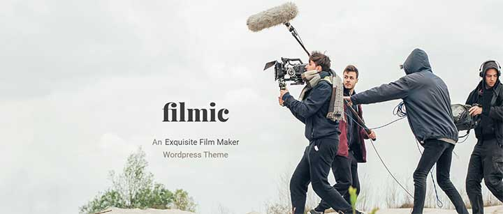 Filmic Movie Studio & Film Maker WordPress Theme