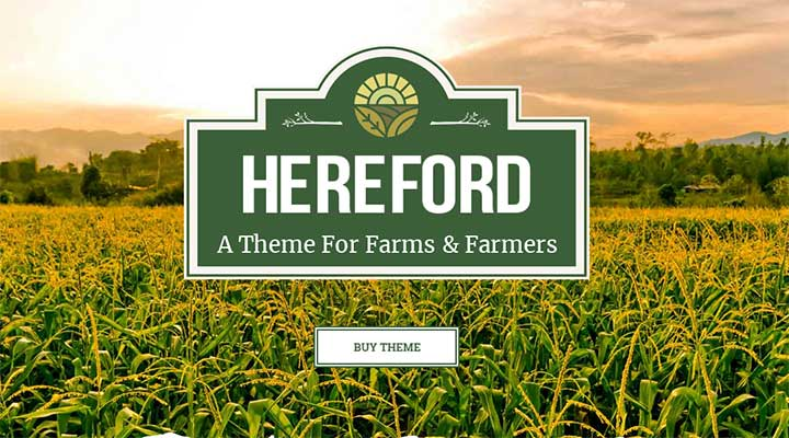 Hereford Agriculture and Organic Food Theme