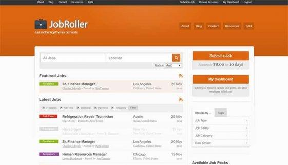 Job Roller - Job Board WordPress Theme