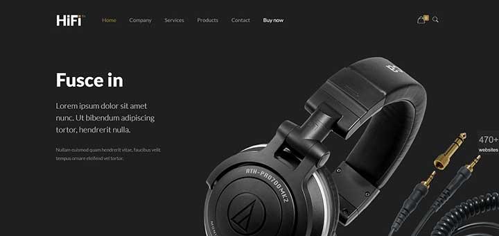 BeTheme Electronic Shop Online