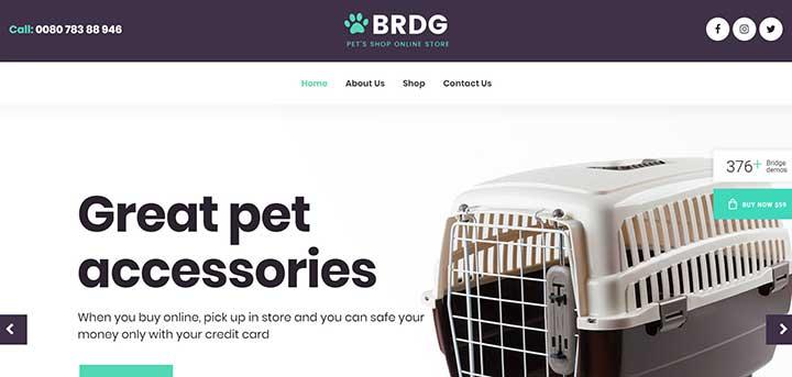 Bridge Creative Multipurpose WordPress Theme