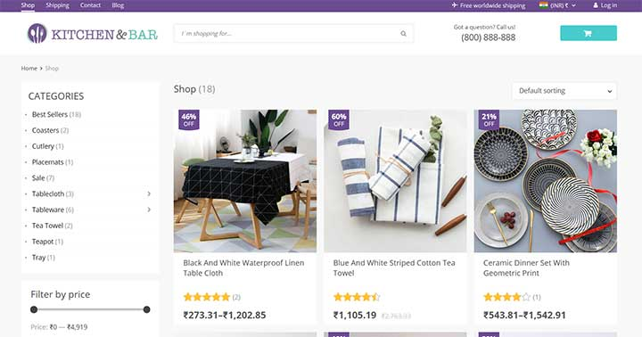 Da Vinci WooCommerce Settings