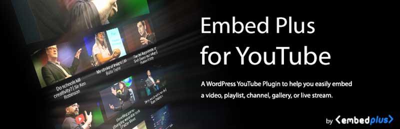YouTube Embed Plus WordPress Video Player