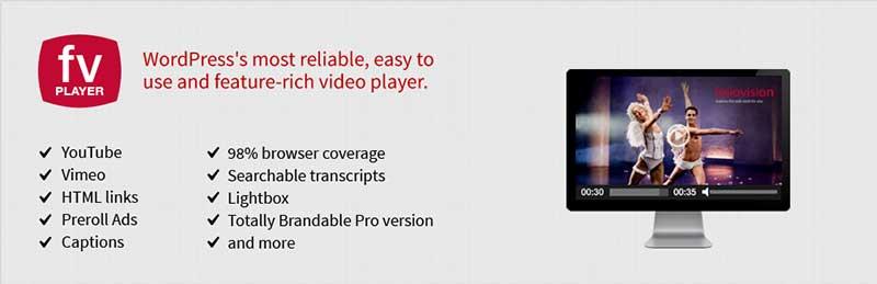 FV Flowplayer Video Player