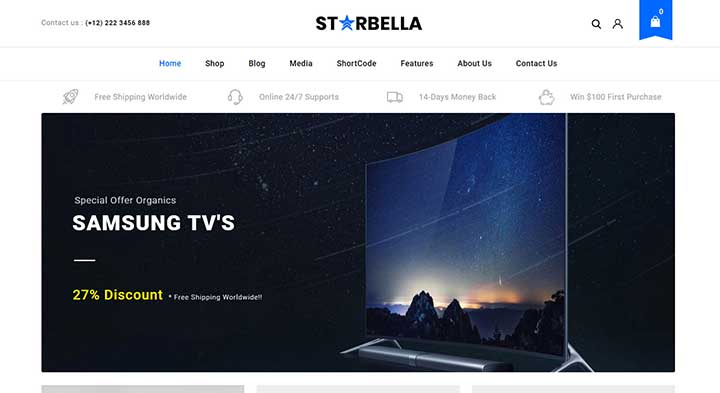 Starbella Online Electronics Shopping