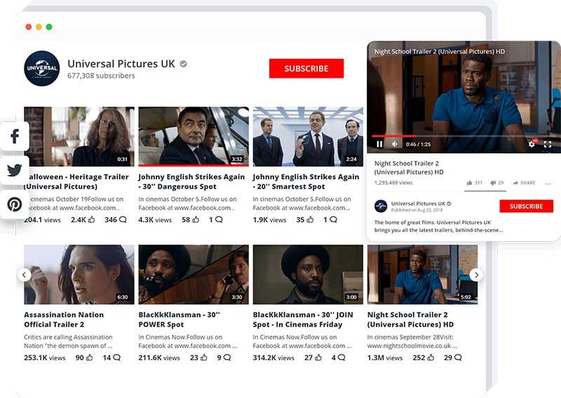 YouTube Plugin from 10web