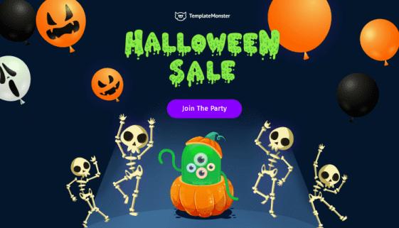 wordpress halloween offers