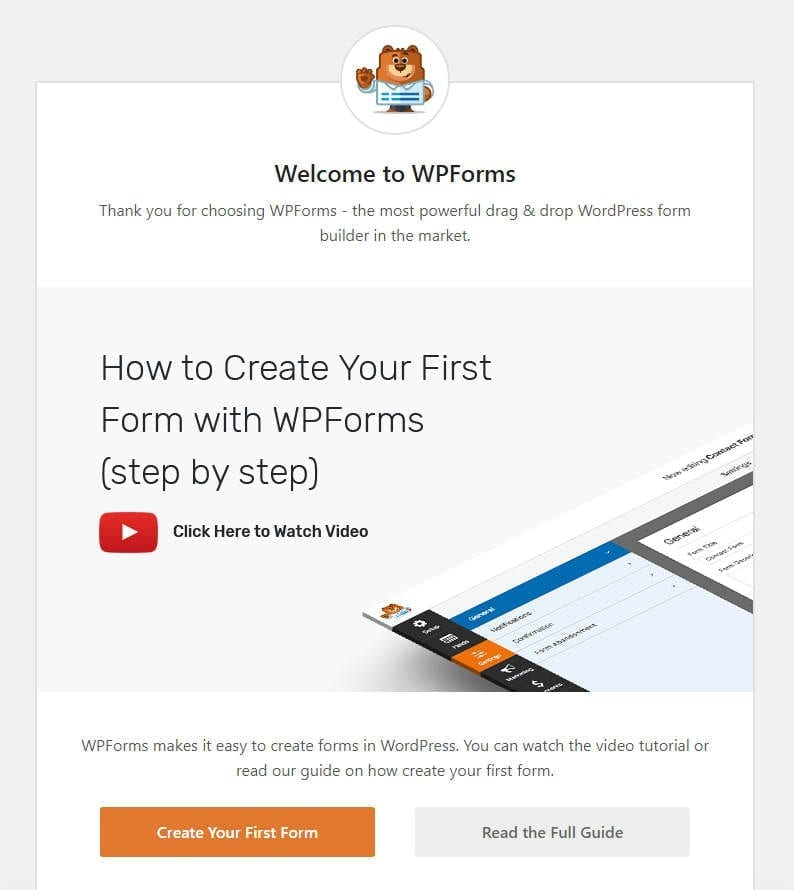 wpforms-welcome-screen-accept-donations-on-wordpress