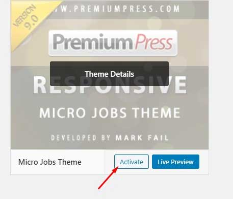 PremiumPress Micro Jobs Theme Review