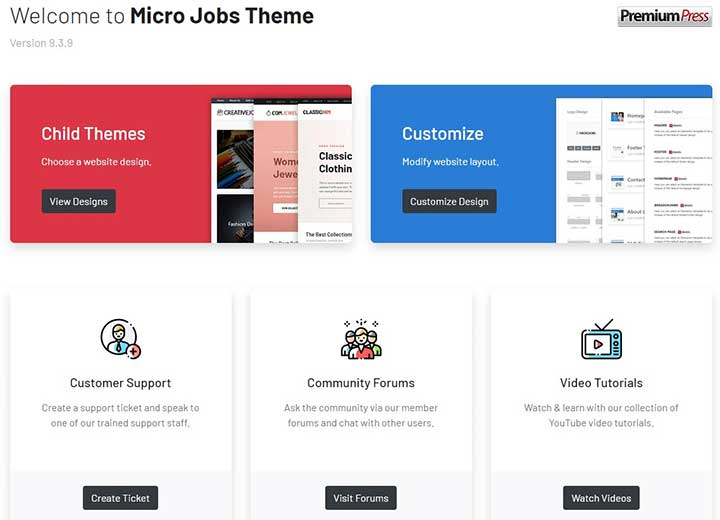 PremiumPress Micro Jobs