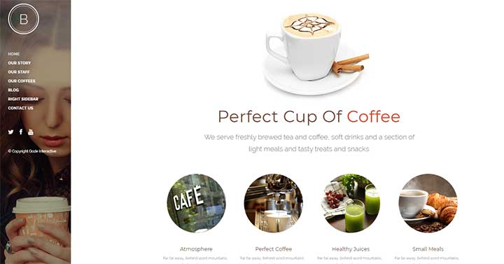 Bridge Coffee WordPress Themes