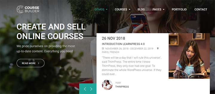 CBKit WordPress eLearning Themes