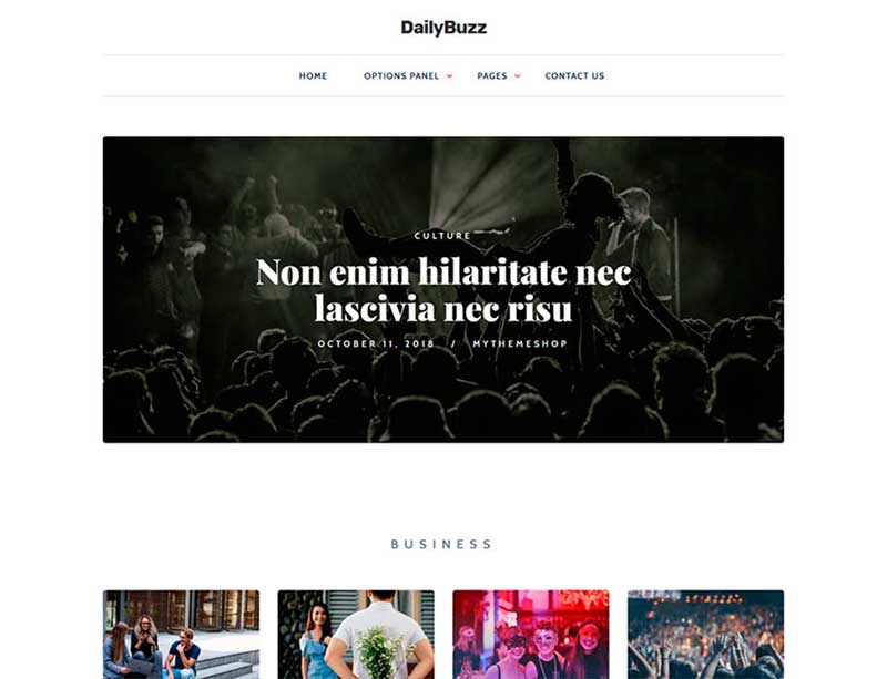 Dailybuzz MyThemeShop