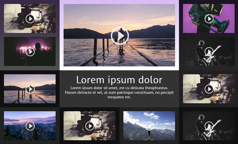 Divi WordPress Video Layout