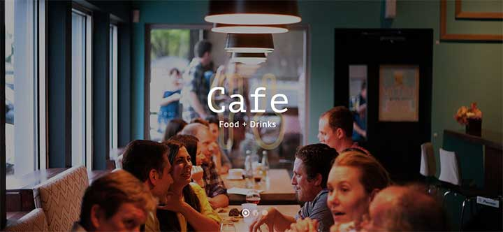 Total WordPress Catering Theme