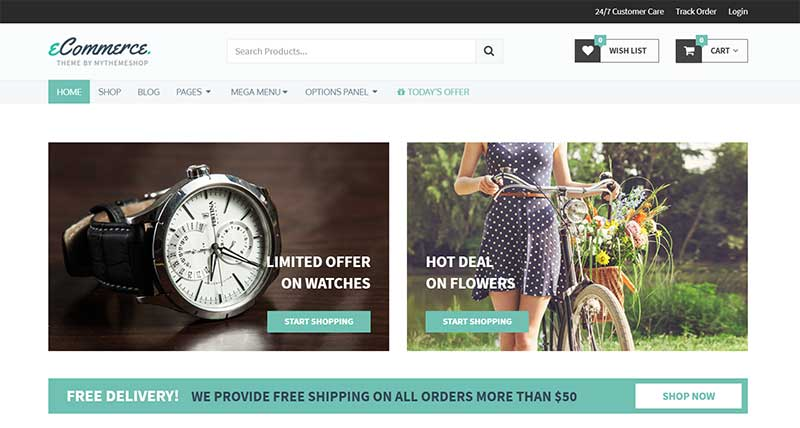 eCommerce MyThemeShop