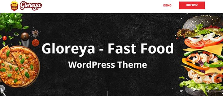 Gloreya WordPress cafe Theme