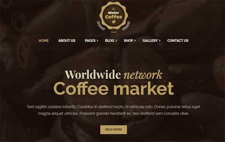 Mister Coffee Caffeine Market Online Store