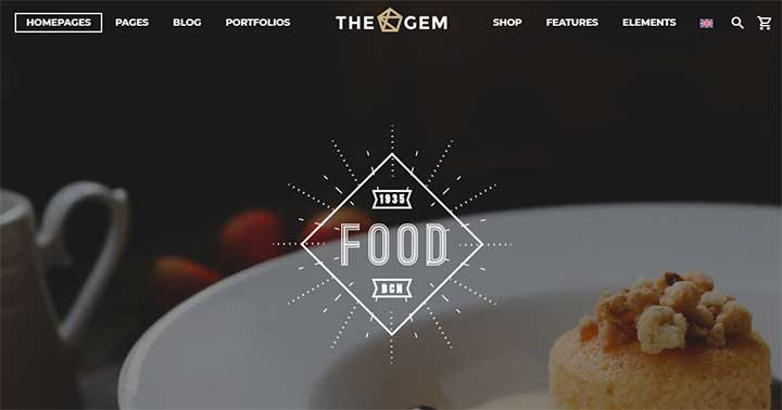 TheGem WordPress Coffee Shop Theme