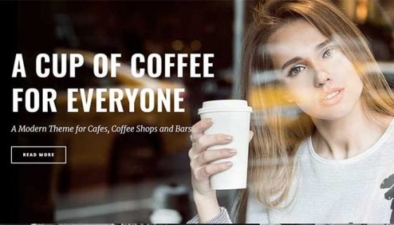WordPress Coffee Themes
