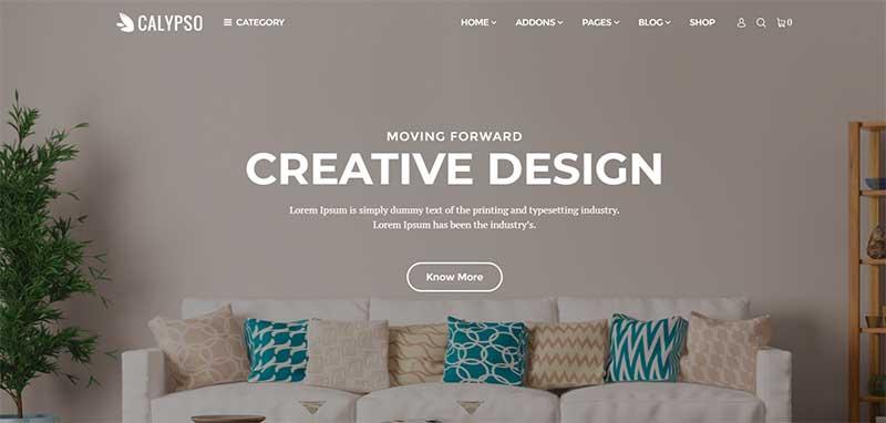 Calypso Multipurpose WordPress Theme