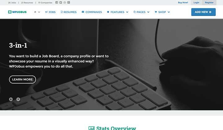 WPJobus WordPress Job Theme