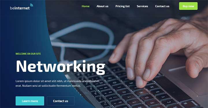 BeTheme Internet Service Provider