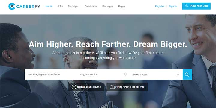 Careerfy WordPress Job Board Theme