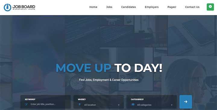 InJob WordPress Job Board Theme