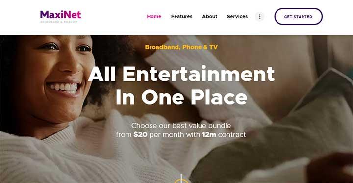 MaxiNet Internet Service provider