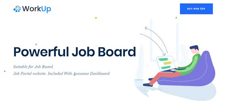 Workup WordPress Job Board Theme