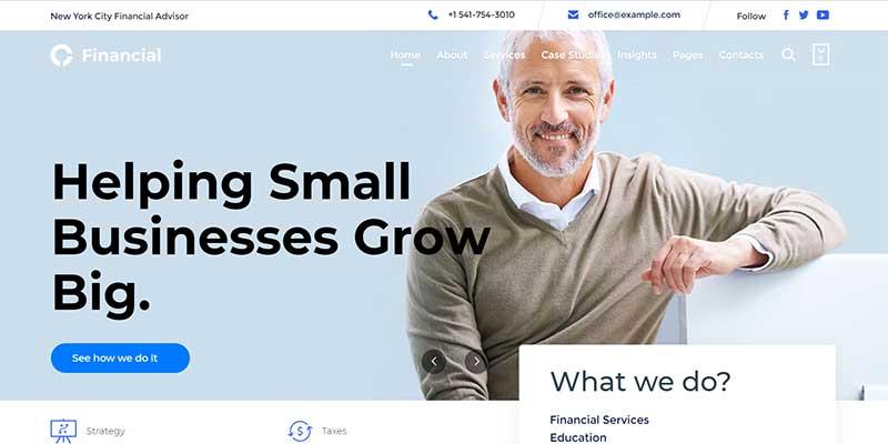 Consultancy WordPress Theme