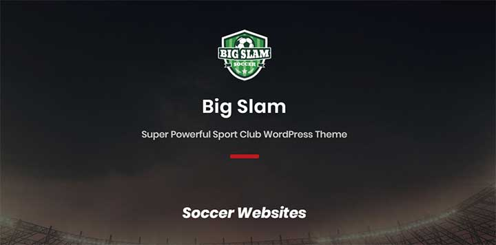 BigSlam WordPress Golf Theme
