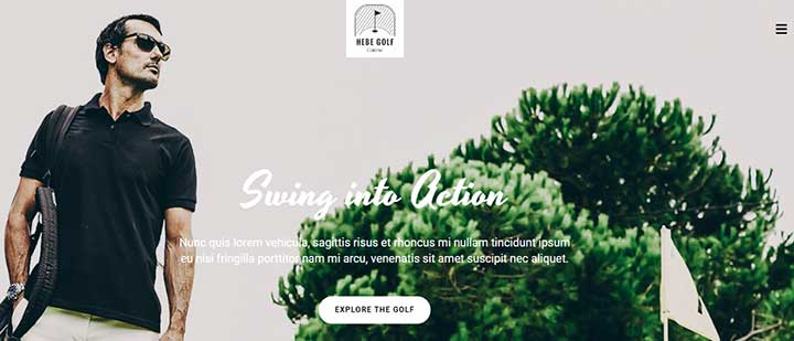 Jupiter WordPress Golf Theme