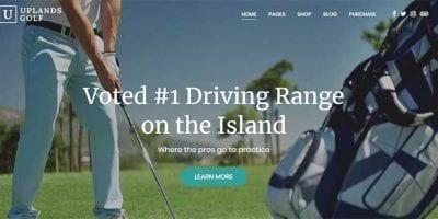 WordPress golf themes