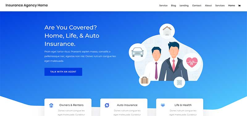 Divi-Insurance-Layout