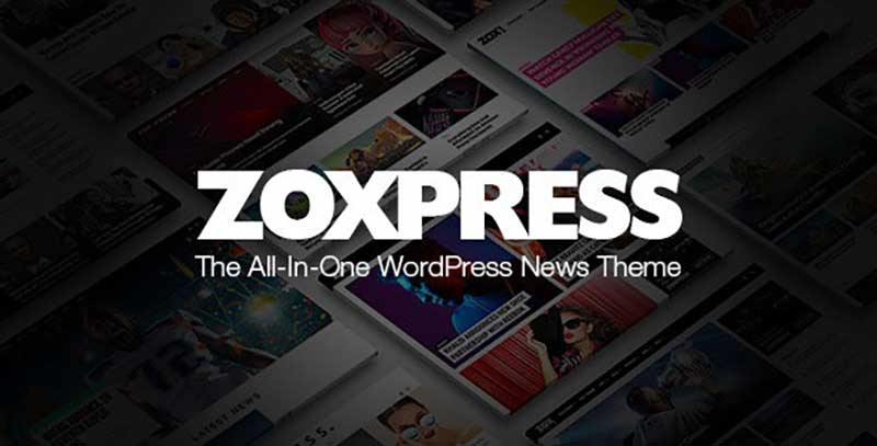 ZoxPress All-In-One WordPress Adsense Theme