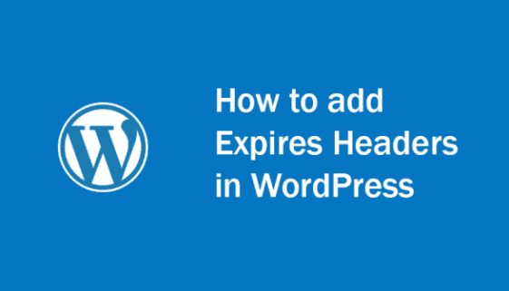 add expires headers wordpress