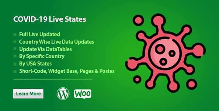 COVID-19 Live Updates Plugin