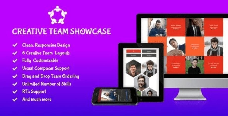 Creative Team Showcase Plugin helps you to introduce your team in a bit more creative and professional manner. It comes with 6 different layouts with multiple options for each layout. This team WordPress plugin is fully customizable with a clean and optimized code. Key features include drag and drop off Team members ordering fully customizable option for all colors, and font sizes. It is available with 6 different layouts with multiple options. You can also get detailed documentation with a clean and optimized code. Creative Team Showcase plugin costs $25 with standard Envato licensing.