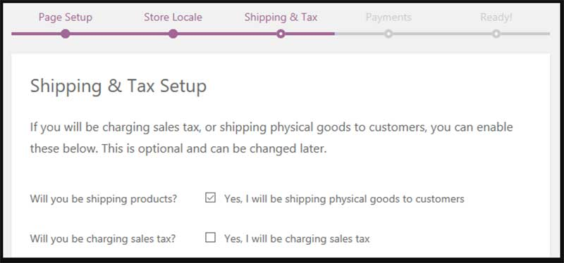 WooCommerce shipping and sales tax
